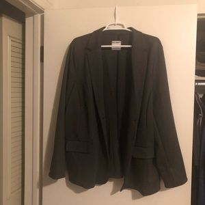 Dark Grey Old Navy 2 Button Blazer 2XL Tall